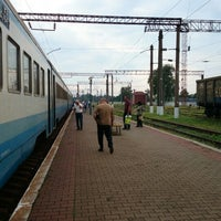 Photo taken at Станція «Цвіткове» by Andrii K. on 7/19/2014