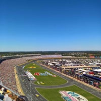 Photo taken at Charlotte Motor Speedway by Hunter V. on 10/9/2016