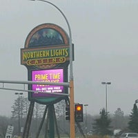 Photo taken at Northern Lights Casino & Hotel by Seth N. on 10/31/2016