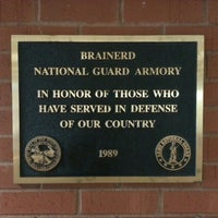 Photo taken at Brainerd Armory by Seth N. on 11/10/2015