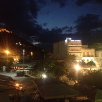 Photo taken at Morfeas Hotel by Beyza A. on 9/8/2014