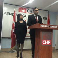 Photo taken at Chp Pendik İlçe Başkanlığı by Derya Ş. on 11/22/2015
