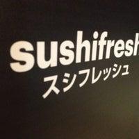 Photo taken at Sushifresh by Marta J. on 2/27/2014