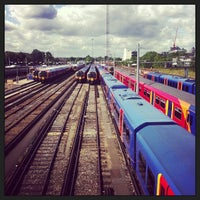 Photo taken at Clapham Junction Railway Station (CLJ) by Monty on 8/19/2013