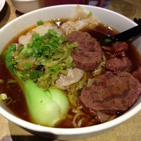 Photo taken at No. 1 Beef Noodle House by LeLe C. on 12/3/2012