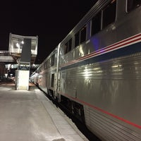 Photo taken at Amtrak Kansas City by Stacey on 3/22/2015