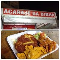 Photo taken at Acaraje da Dinha by Raphael on 3/9/2014