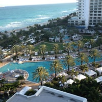 Photo taken at Fontainebleau Miami Beach by Valentina S. on 2/11/2013