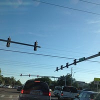 Photo taken at Tampa Rd & Forest Lakes Blvd by Jan B. on 3/28/2013