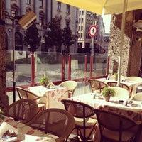 Photo taken at Conti Cafè by Юлиана on 3/16/2013