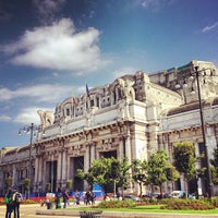Photo taken at Milano Centrale Railway Station by Marco Z. on 5/23/2013