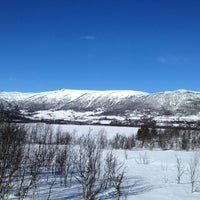 Photo taken at Ustedalsfjorden by Michal A. on 3/14/2013