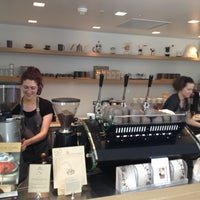 Photo taken at Blue Bottle Coffee by citieguy on 5/6/2013