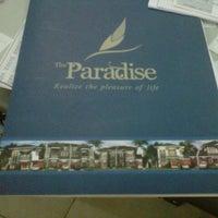 Photo taken at Kantor Pemasaran Perum.  The Paradise by Upik W. on 11/23/2012