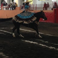 Photo taken at Lienzo Charro by Alvaro R. on 4/20/2013