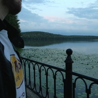 Photo taken at Набережная Теренкуля by Katherine on 7/21/2013