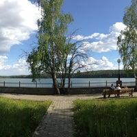 Photo taken at Набережная Теренкуля by Katherine on 6/9/2013