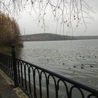 Photo taken at Набережная Теренкуля by Katherine on 10/19/2013