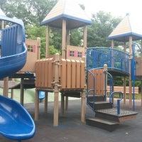 Photo taken at Frick Park Blue Slide Playground by Denise L. on 7/20/2013