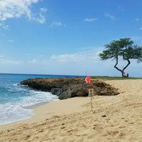 Photo taken at Nanakuli Beach Park by Denise L. on 2/19/2017