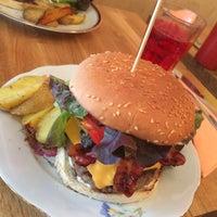 Photo taken at Rachel - Bagels & Burgers by LikeBlegium.com on 8/10/2014