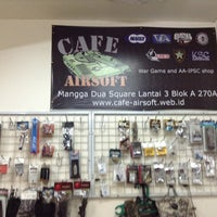 Photo taken at Cafe-Airsoft by edwin h. on 12/1/2012