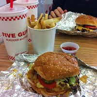 Photo taken at Five Guys by Formentera S. on 10/5/2012