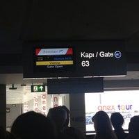 Photo taken at Gate 63 by Kayihan on 9/13/2013