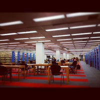 Photo taken at Estelle and Melvin Gelman Library by Tony L. on 9/21/2012