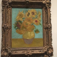 Photo taken at Sunflowers by Vincent Willem van Gogh by Steph D. on 12/27/2016