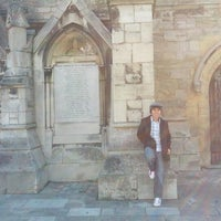 Photo taken at Holyrood Church by Demosthenes Jr C. on 10/14/2012