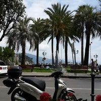 Photo taken at Lungomare di Santa Margherita Ligure by Иван К. on 7/6/2014