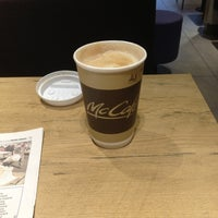 Photo taken at McCafé by Pat on 12/4/2012