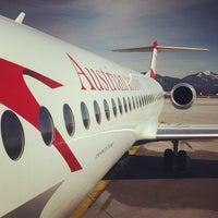 Photo taken at Salzburg Airport W. A. Mozart (SZG) by Stefan J. on 3/17/2013