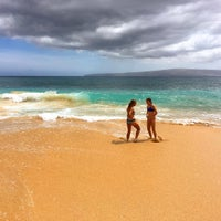 Photo taken at Makena State Park by Marc L. on 7/1/2016