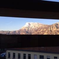 Photo taken at Fondazione Edmund Mach by Marco G. on 2/13/2014