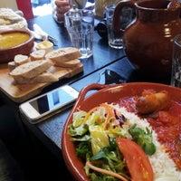 Photo taken at Canela Cafe by Carla F. on 1/18/2013