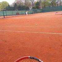 Photo taken at Alexx Tennis am Tivoli by Ghazi T. on 4/5/2014