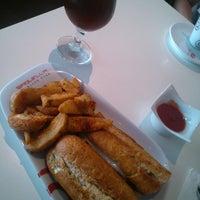 Photo taken at Saquella Espresso Club by Miguel R. on 2/21/2014