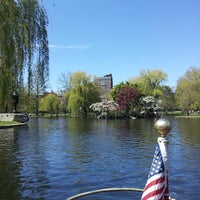 Photo taken at The Swan Boats by Michelle on 5/5/2013