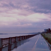 Photo taken at Old Embankment (1st Line) by Danila P. on 7/17/2013