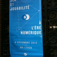 Photo taken at Institut d'art et d'archéologie by Jenn on 12/8/2012