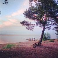 Photo taken at Lake Ladoga by Mikhail K. on 6/16/2013