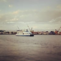 Photo taken at Baylink Ferry by Paris D. on 10/10/2012