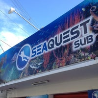 Photo taken at SeaQuest Sub by Thiago S. on 8/18/2013