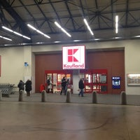 Photo taken at Kaufland by Sky F. on 12/3/2012