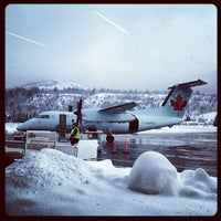 Photo taken at West Kootenay Regional Airport by Toshi on 1/8/2013