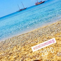 Photo taken at Paradissia Beach House by Zeynep A. on 5/1/2018