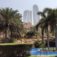 Photo taken at Emirates Palace Hotel Swimming Pool by Jean Jacques B. on 2/24/2014