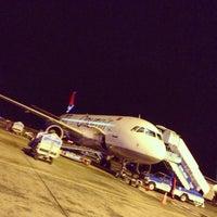 Photo taken at Domestic Terminal Arrival by Barış B. on 1/25/2013